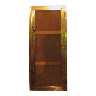 Brass Screen Door For Sale