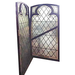 Stained Glass Windows - a Pair Preview