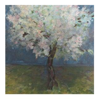 "Original ""Blooming Almond Trees"" Painting"