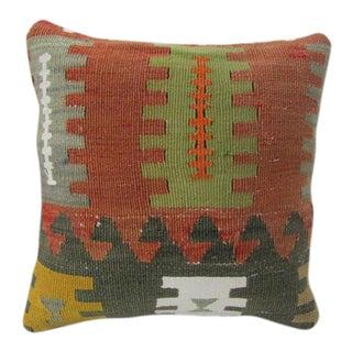 Handmade Decorative Turkish Kilim Pillow For Sale