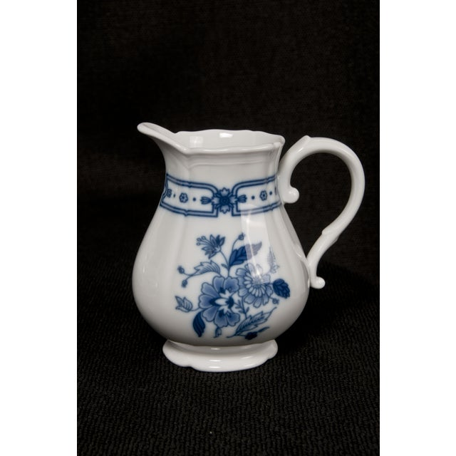Italian Blue & White Tea Service - Image 6 of 6