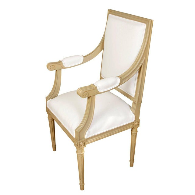 Set of Ten Louis XVI Style Dining Chairs - Image 3 of 9