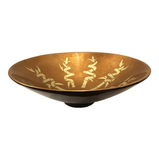 J Fleet Large Lacquer Ware Bowl