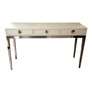Jonathan Adler Channing 3-Drawer Console For Sale