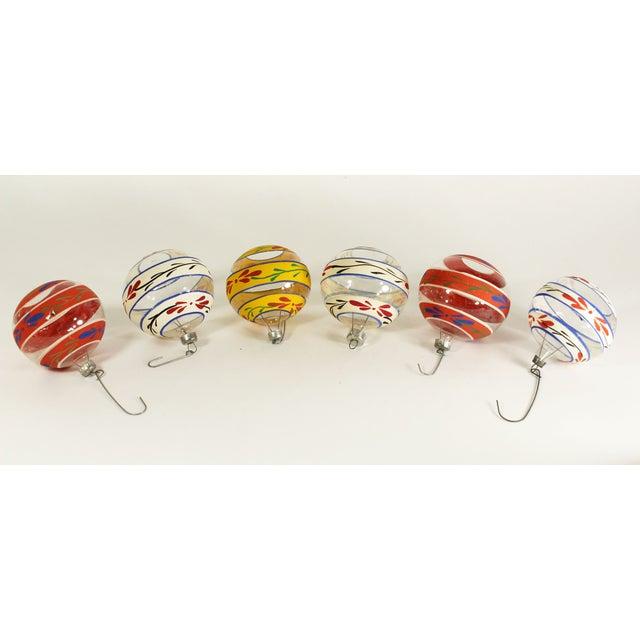 Vintage Glass Christmas Ornaments (Set of 6) - Image 2 of 3