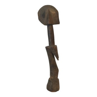 1950s Vintage Hand Carved Mossi African Figure For Sale