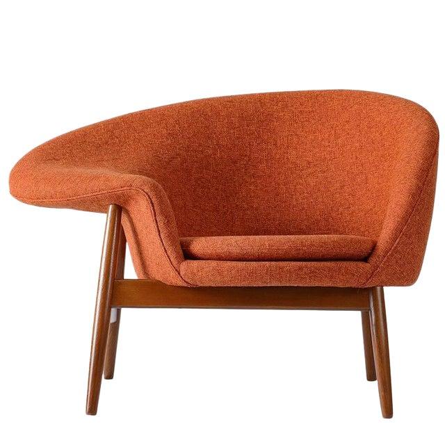 """Hans Olsen """"Fried Egg"""" Lounge Chair For Sale"""