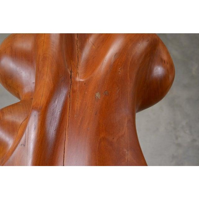 Large Carved Wood Sculpture by Istvan Toth - Image 7 of 8