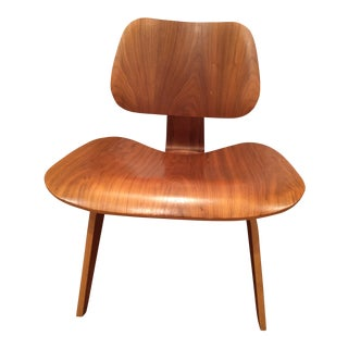 Vintage Eames Molded Plywood Lounge Chair For Sale
