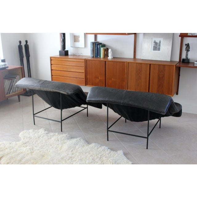 Montis Vintage Gerard Van Den Berg Butterfly Chairs- a Pair For Sale - Image 4 of 10