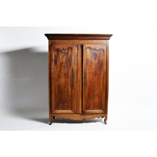 French Walnut Armoire For Sale - Image 13 of 13