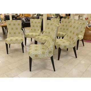 Set of 8 Larry Laslo Directional Dining Side Chairs Preview