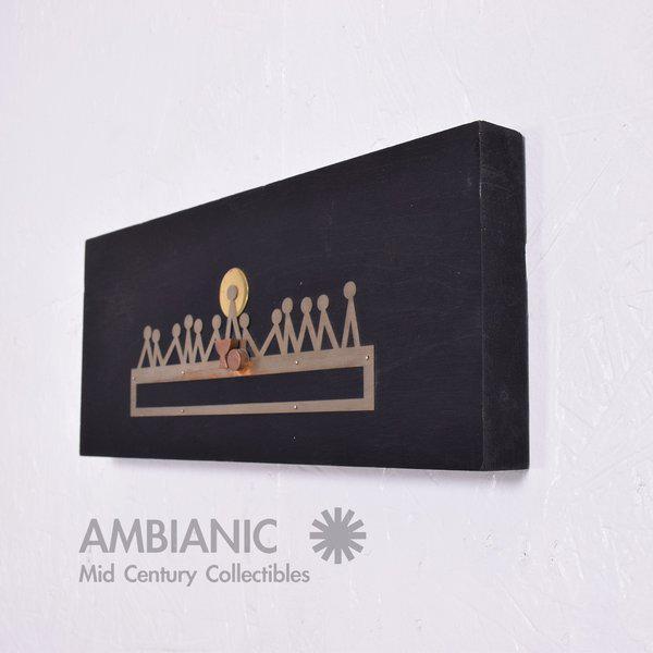 1970s Emaus Last Supper Wall Sculpture For Sale - Image 5 of 7