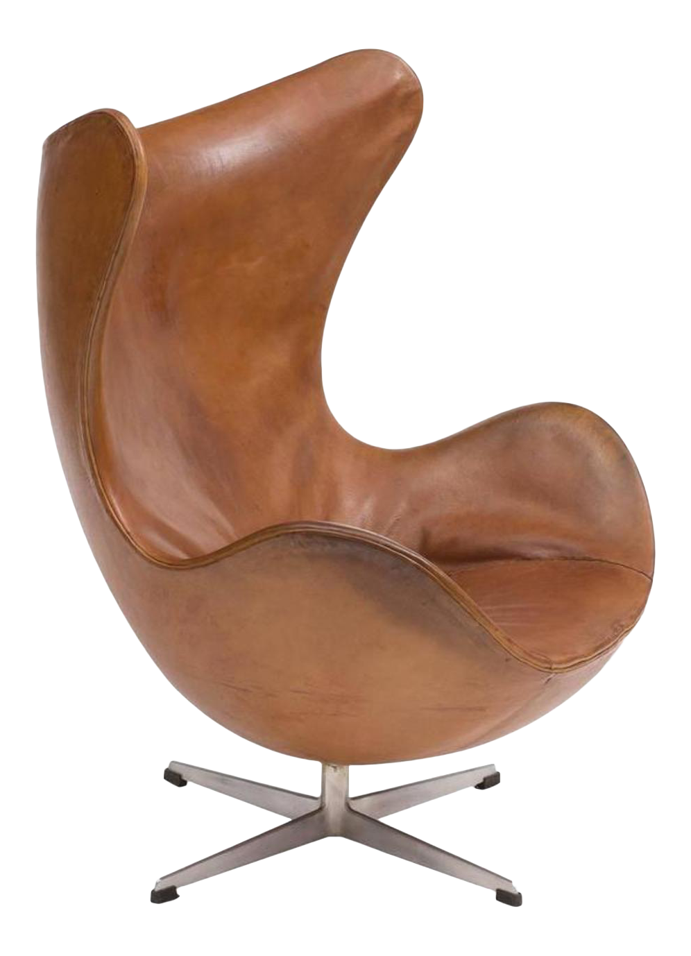 First Edition Egg Chair By Arne Jacobsen, Denmark, 1959 For Sale