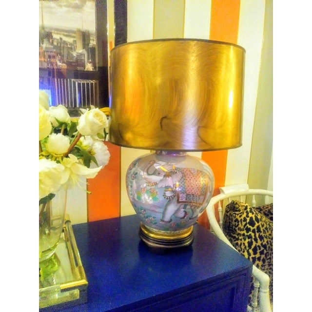This is a stunning rare vintage lamp by Frederick Cooper. This lamp is nice and big and was such great presence with a...