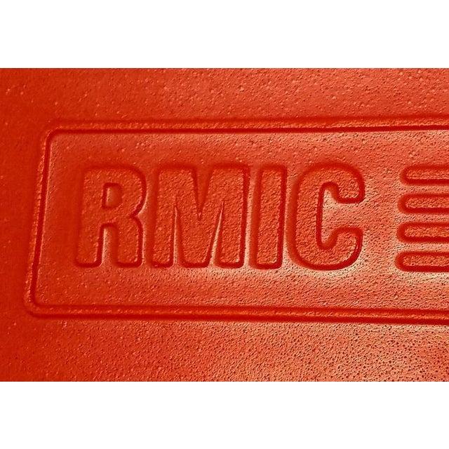 Orange 1970 Vintage Rmic Hand Chair For Sale - Image 8 of 13