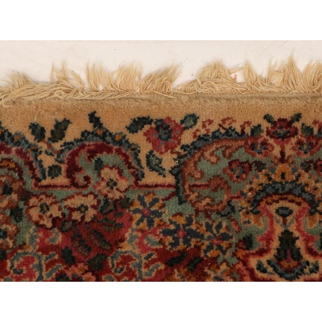 "Textile Late 20th Century Karastan ""Kirman"" Persian-Style Wool Rug-11′5″ × 20′ For Sale - Image 7 of 13"