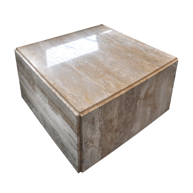 Stone Side Table - Image 1 of 7
