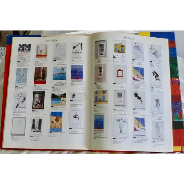 1990s David Hockney: Poster Art Book by Brian Baggot For Sale - Image 5 of 8