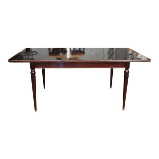 Maison Jansen Mahogany Dining Table For Sale