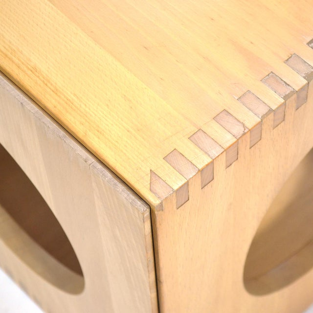 Tan Jens Quistgaard Cube End Tables by Richard Nissen For Sale - Image 8 of 11