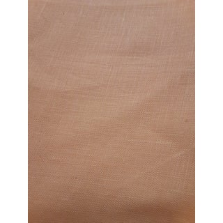 Traditional Linen Sunflower Gold Fabric - 4 Yards For Sale