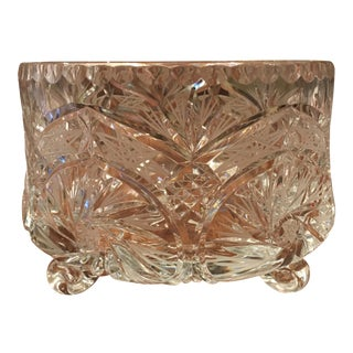 Crystal Footed All Purpose Bowl