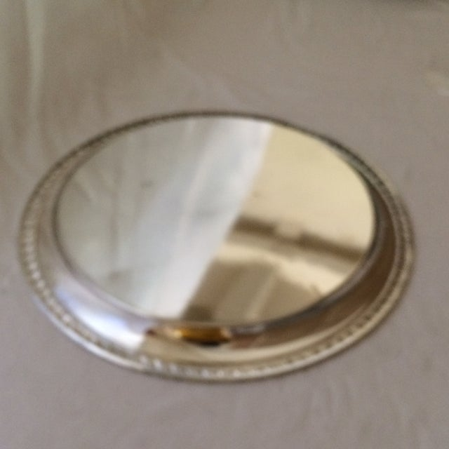 1975 Engraved April Fools Invitational Silver Plate Tray For Sale - Image 10 of 11