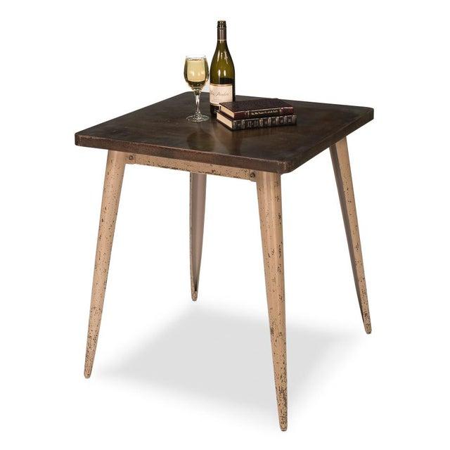 Sarreid Ltd. Sarreid Ltd Tolix Cafe Table For Sale - Image 4 of 4