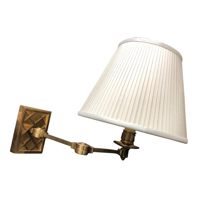 "Alexa Hampton ""Gene Swing Arm"" Wall Lamp for Visual Comfort For Sale"