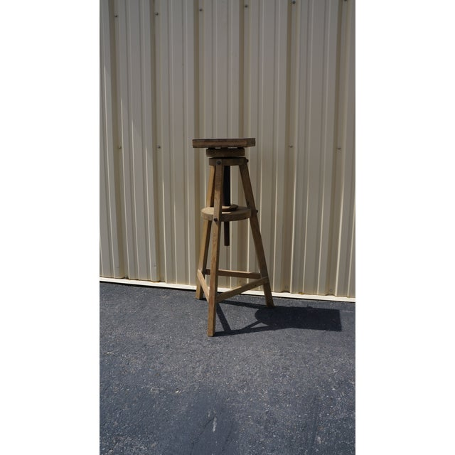 Antique European Survey Stand - Image 3 of 3