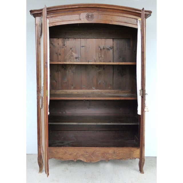 Antique French Provincial Style Armoire - Image 2 of 11