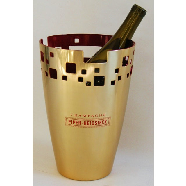 Piper-Heidsieck Champagne Bucket Chiller For Sale - Image 7 of 11