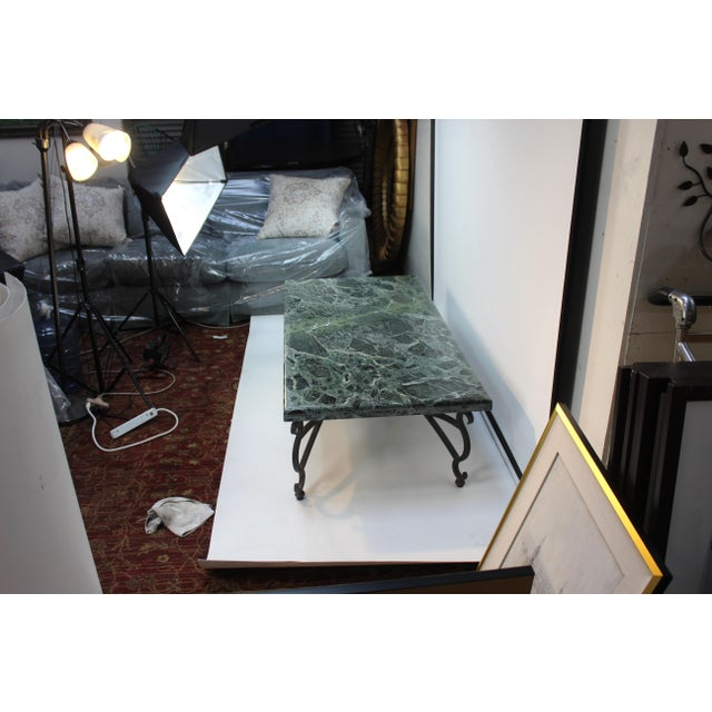 Contemporary Italian Marble Table For Sale - Image 3 of 10