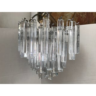Vintage Mid-Century Modern Venini Italian Murano Chandelier Preview