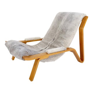 Harvey Probber Suspension Chair Restored in Brazilian Cowhide For Sale
