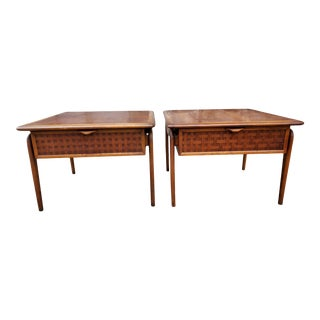 Mid Century Modern Lane Perception End Tables-A Pair For Sale