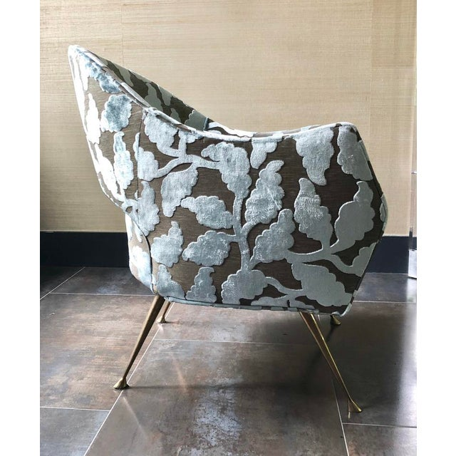 """Mid-Century Modern Mid Century Style """"La Briance"""" Chairs - a Pair For Sale - Image 3 of 6"""