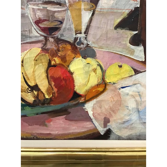 Mid-Century Still Life Painting For Sale In New York - Image 6 of 12