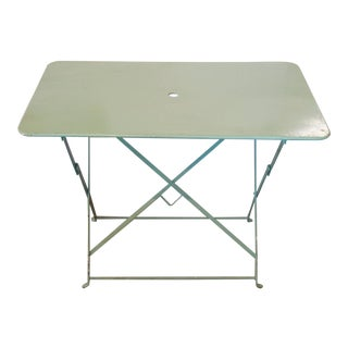 French Folding Garden Table