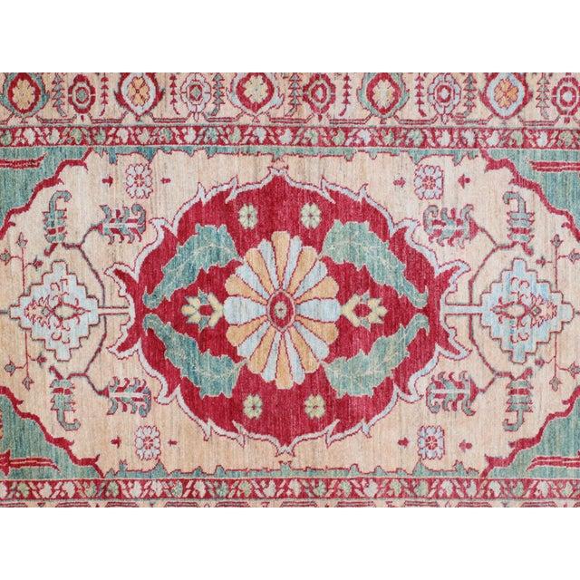 """Kazak Wool Rug - 4'1"""" x 6'6"""" - Image 6 of 7"""