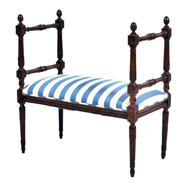 Louis XVI Style Bench - Image 1 of 7