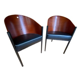 Philippe Stark Costes Chairs - a Pair For Sale