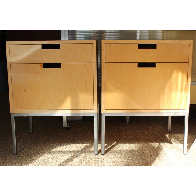 Mid-Century Modern Nightstands - A Pair - Image 2 of 11