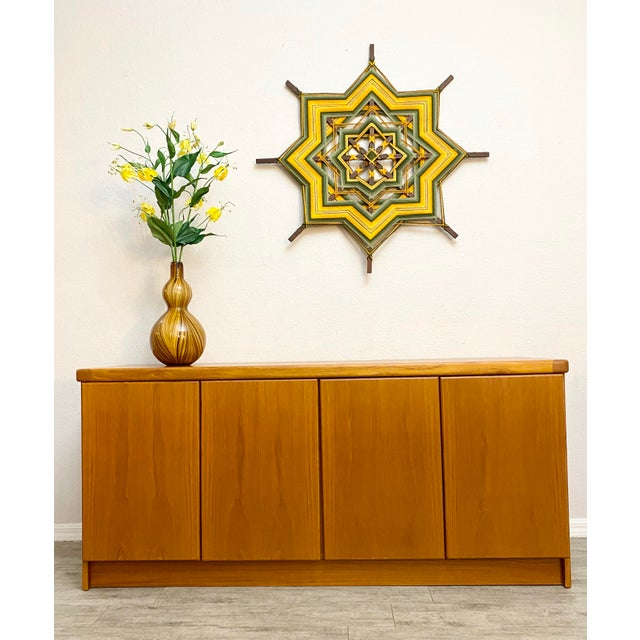 Mid-Century Modern Christian Linneberg Danish Teak Mid Century Modern 2-Piece Buffet Hutch For Sale - Image 3 of 8
