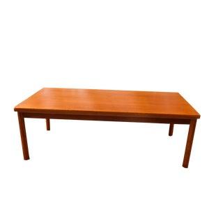 Vejle Stole & Mobelfabrik Danish Modern Rectangular Coffee Table