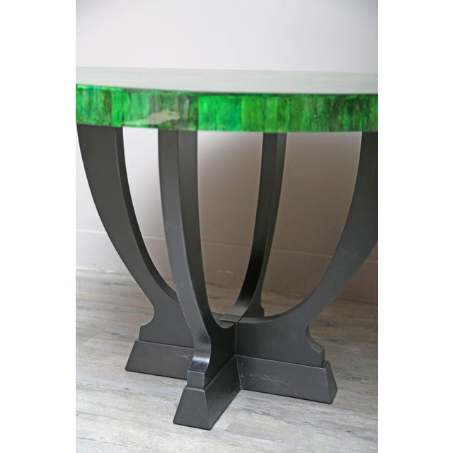 2010s Papaya Dining or Center Table by Serge De Troyer, Belgium, 2018 For Sale - Image 5 of 8