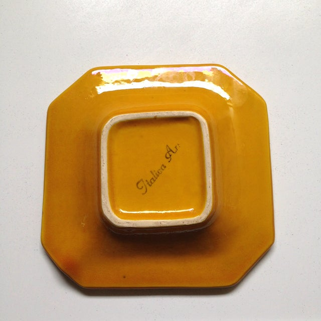 Yellow Italica Ars Cane Ashtray - Image 5 of 7