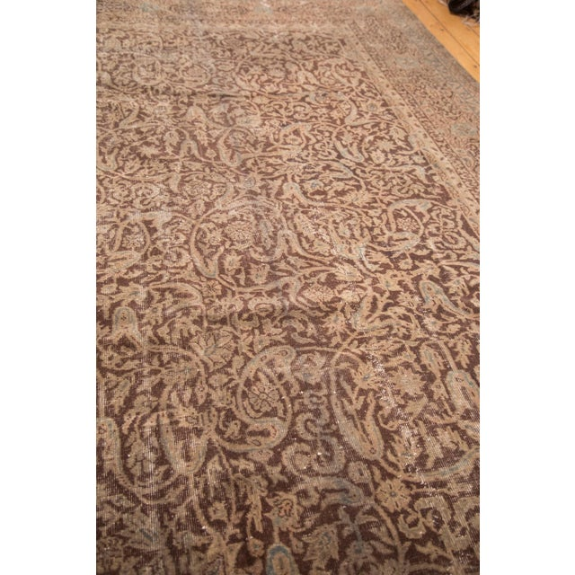"Distressed Vintage Oushak Carpet - 8'8"" x 11'8"" - Image 7 of 7"
