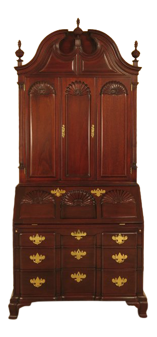 Kindel Winterthur Collection Mahogany Updyke Desk